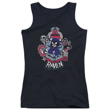 Teen Titans Go - Raven Juniors Tank Top Officially Licensed Apparel