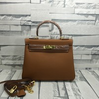 2020 New Office hermes h coffee Women Leather Monogram Handbag Neverfull Bags Tote Shoulder Bag Wallet Purse Bumbag Discount Cheap Bags Best Quality