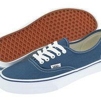 VANS AUTHENTIC NAVY  Origianl Classic Men