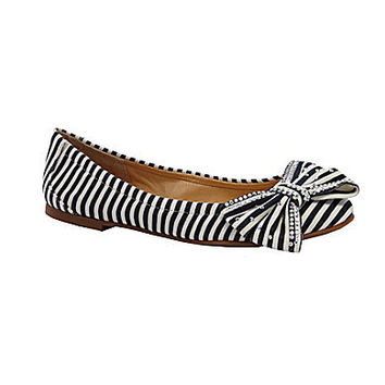 Gianni Bini Candy Striped Flats | Dillards.com