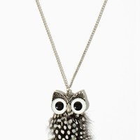 Of A Feather Owl Necklace | Necklaces | charming charlie