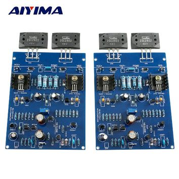 Aiyima NAIM NAP140 AMP CLONE KIT 2SC2922 Amplifier board Kits For DIY 2 channels J163