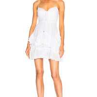 Isabel Marant Zowie Dress in White | FWRD