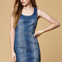 MinkPink Got The Blues Worn Denim Dress at PacSun.com