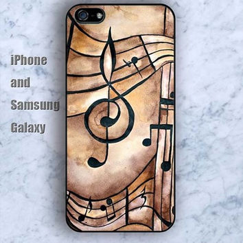 Retro music colorful iPhone 5/5S case Ipod Silicone plastic Phone cover Waterproof