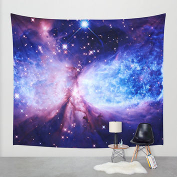 Wall Tapestry, A Star is Born Wall Tapestry, Galaxy Wall Hanging, Wall Decoration, Lightweight Galaxy Throw Blanket, Space Wall Tapestry