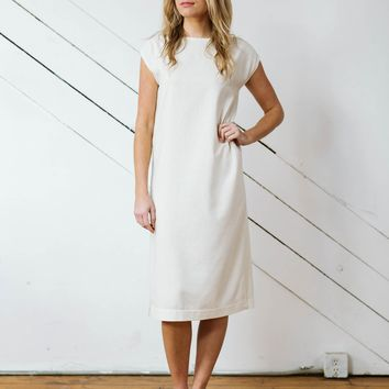Elliot Dress in Raw Silk