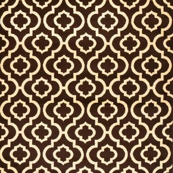 2026 Brown Moroccan Trellis Area Rugs