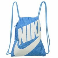 Accessories Nike Heritage Gymsack Photo Blue / White FamousFootwear.com