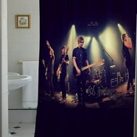 5 sos seconds of summer shower curtain that will make your bathroom adorable