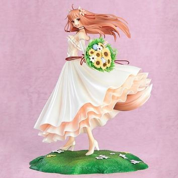 Spice And Wolf Holo Action Figure 1/8 scale painted figure Wedding Dress Ver. Holo PVC figure Toy Brinquedos Anime
