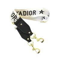 Ivory Canvas Guitar Style Strap