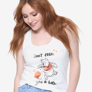 Disney Winnie The Pooh Don't Give A Bother Girls Tank Top