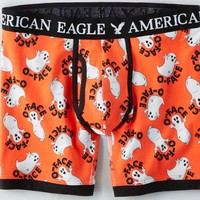 AEO Men's Ghost Halloween Athletic Trunk (Orange)