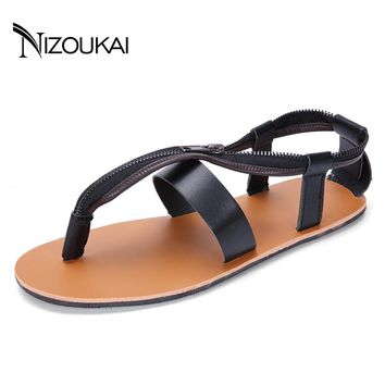2017 Summer Men Sandals Beach Gladiator Sandals Men Shoes Breathable Men Flip Flops Sandals sandalias hombre