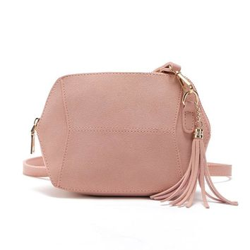 Women's Handbags Women Purses Bag Ladies Messenger Crossbody Bag Femme Designer Tassel Clutch Bags 10 Colors Bolsa Feminina 2017