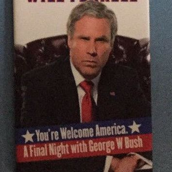 You're Welcome America Broadway Souvenir Magnet
