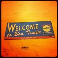 TRUE BLOOD MAGNET: WELCOME TO BON TEMPS SIGN. SOOKIE STACKHOUSE. VAMPIRE | eBay