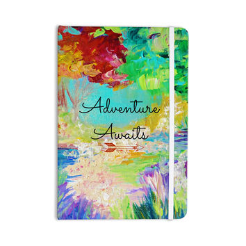 "Ebi Emporium ""Adventure Awaits"" Painting Typography Everything Notebook"
