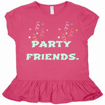 Party Friends Toddler Tee Dress