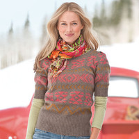 NOUVEAU PULLOVER - Pullovers - Sweaters - Women | Robert Redford's Sundance Catalog