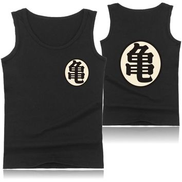 Black/Blue/White/Gray Dragon Ball Super Stock Tank Top