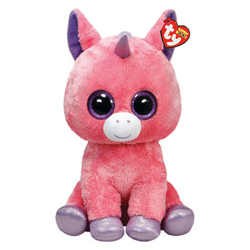 Buy Ty Beanie Boo Magic Unicorn Soft Toy, 40cm | John Lewis