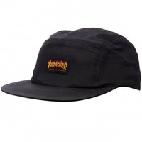 Thrasher Flame Logo 5-Panel Hat