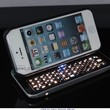 Cool Black Keyboard Case Cover for Iphone 4/4s