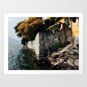 The Edge Art Print by Nicolette Ward