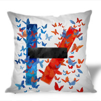 twenty one pilots Logo Art on Square Pillow Cover