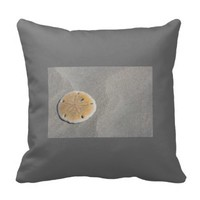 custom pillow SAND DOLLARS