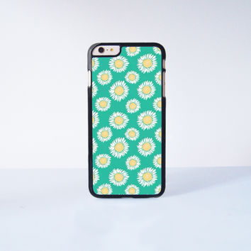 Cute Little Daisy Plastic Case Cover for Apple iPhone 6 Plus 4 4s 5 5s 5c 6