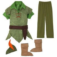 Disney Peter Pan Costume Authentic (L 10 Large)