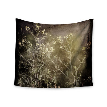 "Sylvia Coomes ""Wild Darkness"" Black Photography Wall Tapestry"