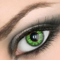 Amazon.com: Colored Eye Contact Lenses (Gemstone Green): Health & Personal Care
