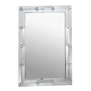 Blaire Mirrored Wall Accent Mirror