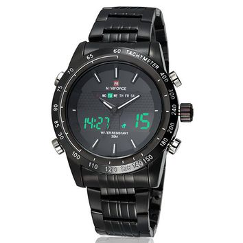 Luxury Full Steel LED Watch