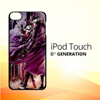 JOKER AND HARLEY QUINN ART Z0029 iPod Touch 6 Case