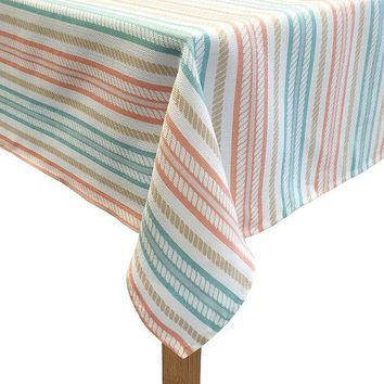 DCCKX8J Colordrift The Ropes Tablecloth (Orange)