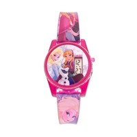 Disney's Frozen Elsa, Anna & Olaf Kids' Digital Musical Watch (Pink/Purple)