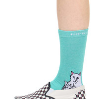 AQUA HEATHER LORD NERMAL SOCKS