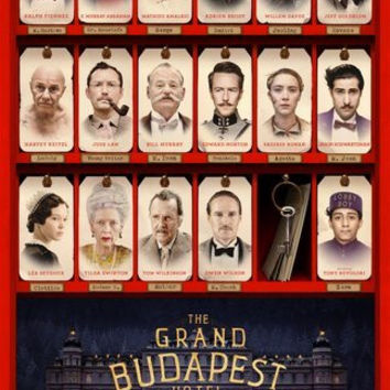 Grand Budapest Hotel Poster 11Inx17In Mini Poster