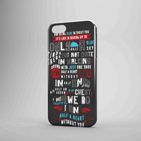 One Direction Quote Cute As A Button iPhone 5 Case