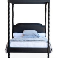 Andrew's Canopy Bed, Black Walnut, Canopy Beds