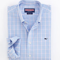 Men's Sport Shirts: Whale Collection Archboard Check Shirt For Men – Vineyard Vines