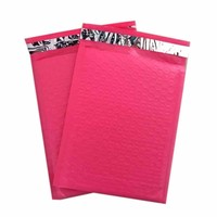 100 #0 ( PINK ) Poly Bubble Mailers Envelopes Bags 6x10