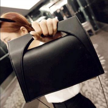 New Casual Small Clutches Brand Handbag Black Women Evening Clutch Bags High Quality PU Leather Shoulder Bags Designer Hand Bag