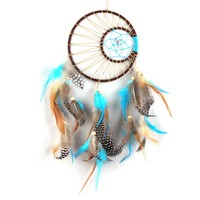 Handmade Feathers Dream Catcher Hunter substance attrape reve Car Home Wall Hanging Decoration Room Ornaments Mascot Gift