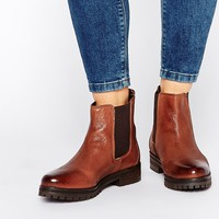 Rule London Chunky Leather Chelsea Boots